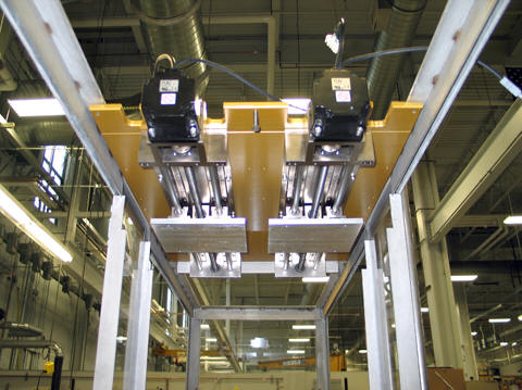 Motion Control System from LM76 for corrosive Plating Line